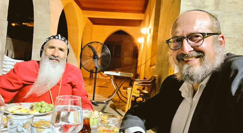 Metropolitan Bishop of Adıyaman Grigoriyos Melki Ürek & Rabbi Mendy Chitrik