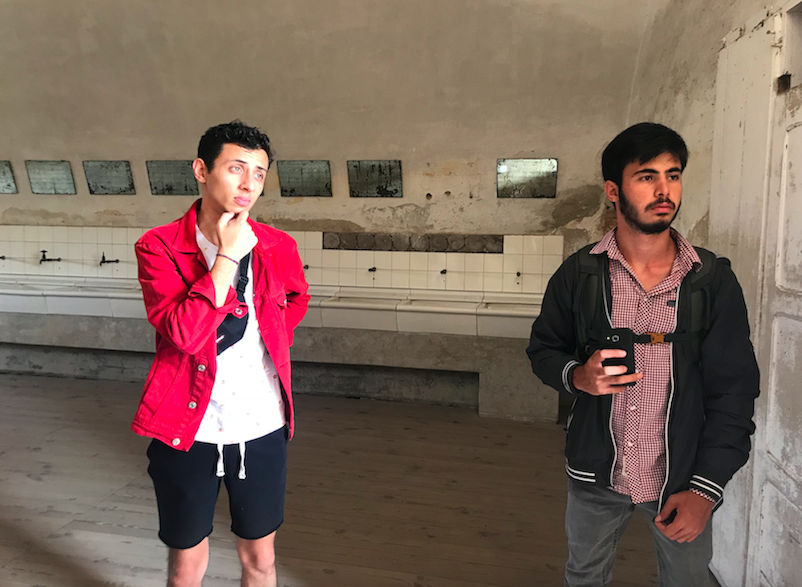 March of the Music 2018, Engin Çetin and Akın Kilis at Theresienstadt Concentration Camp