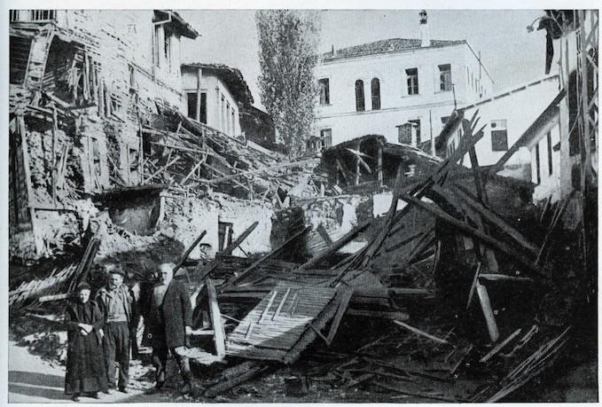Italians Bombarded Kastoria