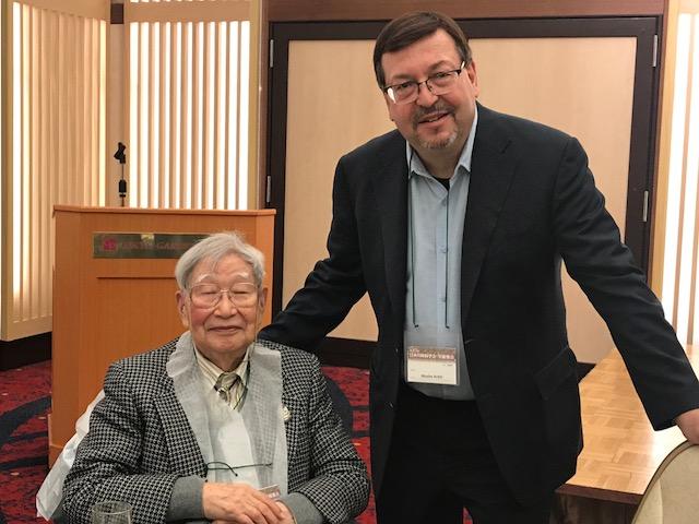 Dr. Moshe Arditi together with Dr. Tomisaku Kawasaki