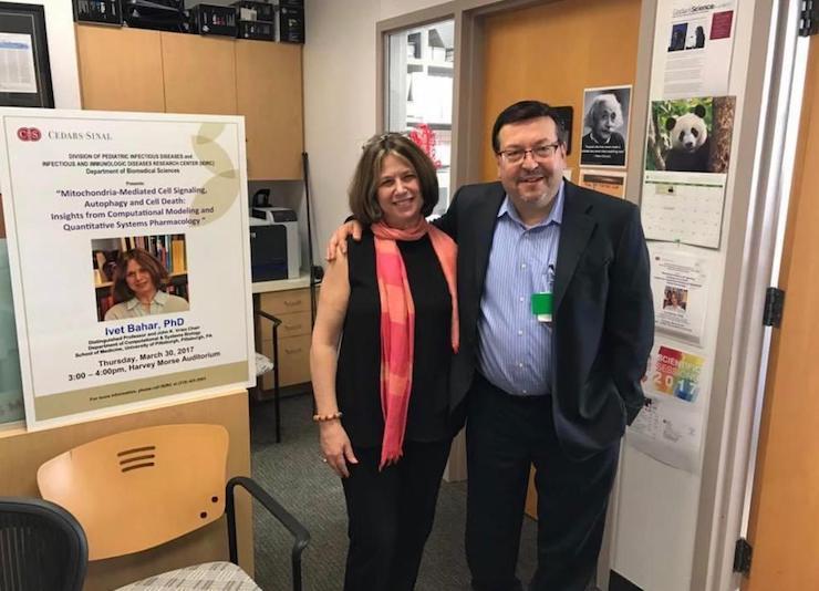 Prof. Ivet Bahar & Prof. Moshe Arditi