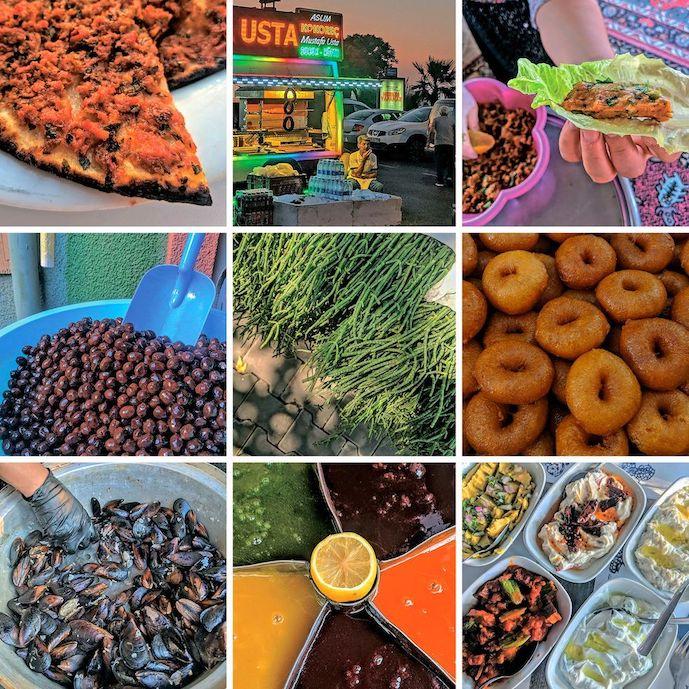Izmir's delicacies. Credit: Ronit Vered