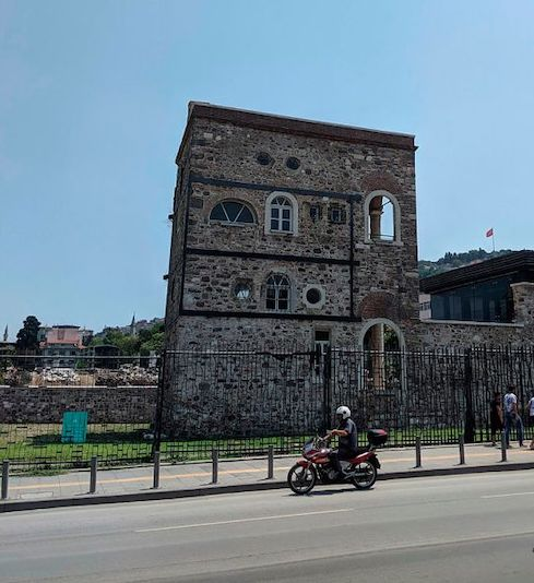 The building where Shabbetai Zvi is said to have been born, in Izmir, Turkey. Ronit Vered