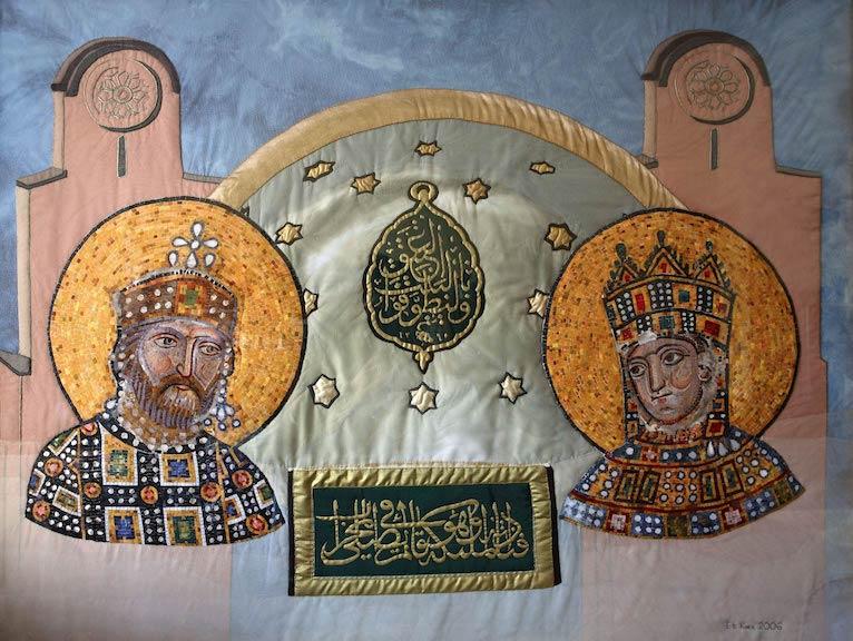 Eti Koen, Hagia Sophia, Istanbul