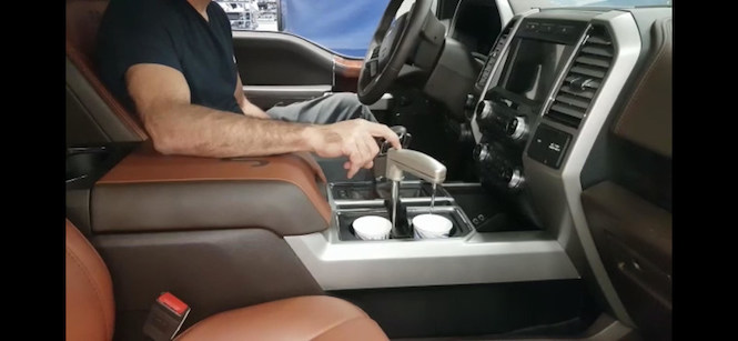 Watergen technology creating water inside vehicle. Via PR Newswire