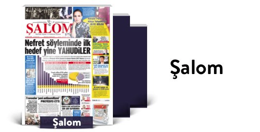 Şalom Newspaper on Turkcell 'Dergilik'
