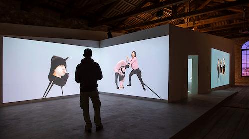 Installation view of We, Elsewhere. Photos: Poyraz Tutuncu.