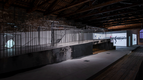 Installation view of We, Elsewhere. Photos: Poyraz Tutuncu