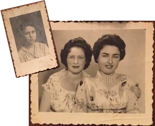 Grandma Malka, (on the right)