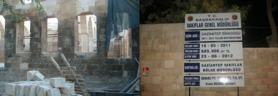 Gaziantep Synagogue's Renovation
