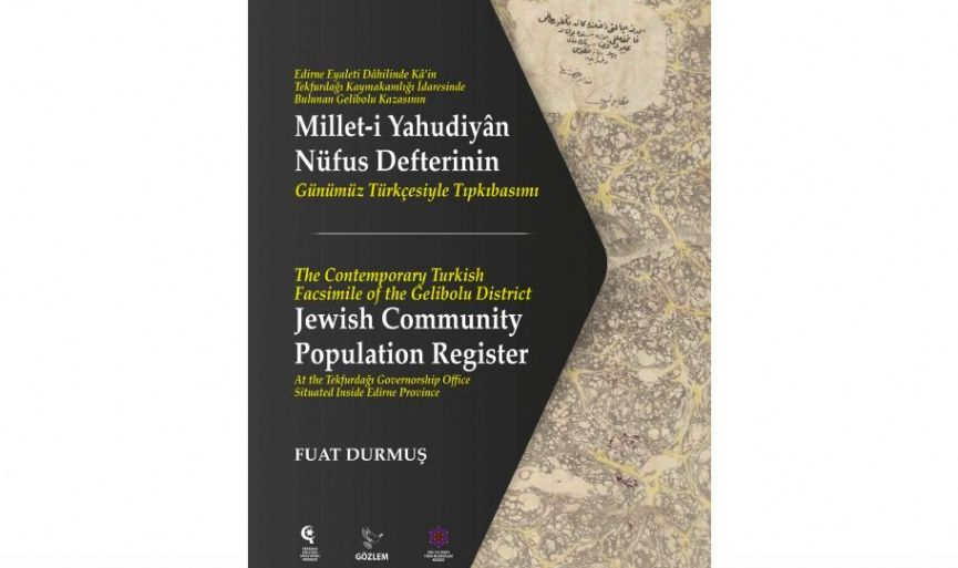 """The Jewish Community Population Register of the Gelibolu District"""