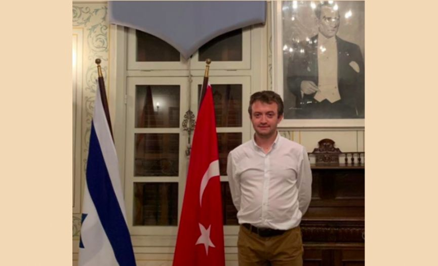 Cultural Consultant Appointed at Tel Aviv Embassy of Turkey After 11 Years