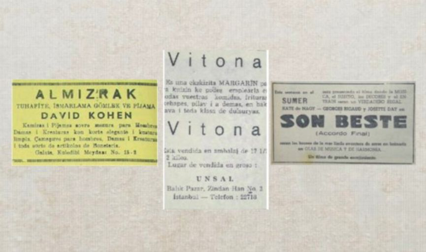 Once Upon a Time Jewish Life in Istanbul, in Ladino Ads – 4