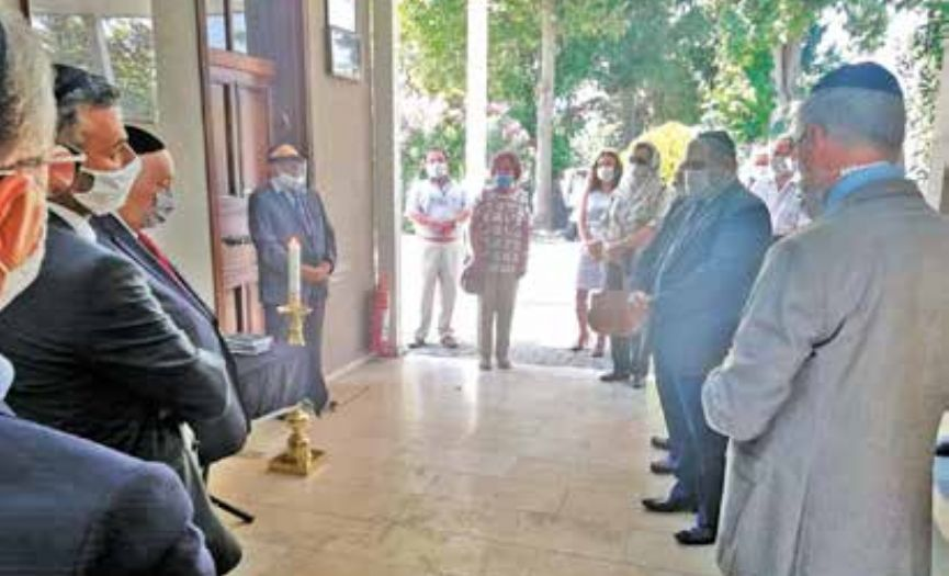 Former Chief Rabbi of Turkey, Rabbi Asseo Commemorated