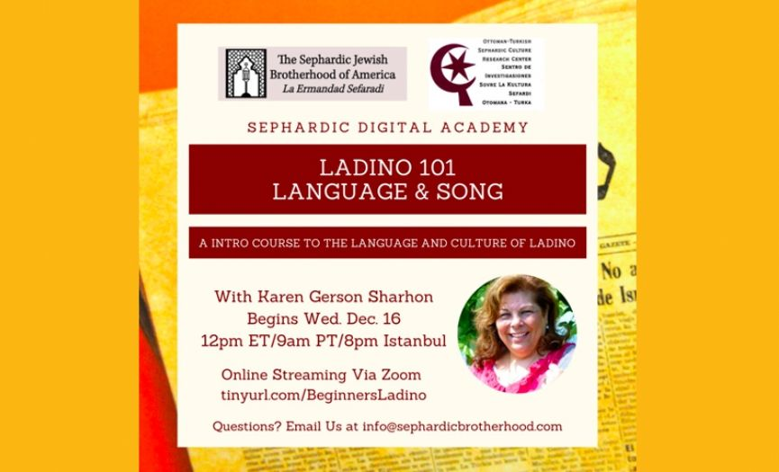 Ladino Classes by Karen Sharhon