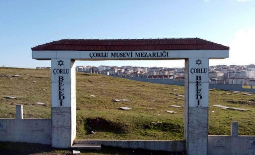 Çorlu Jewish Cemetery´s Gate Stolen Again