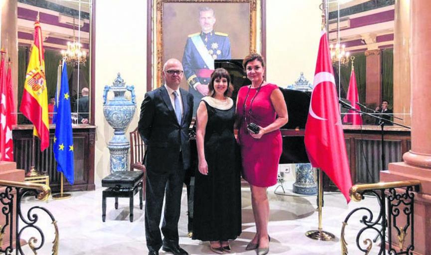 Renan Koen's recital in Madrid was greatly admired