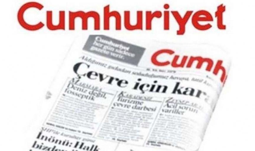 Anti-Semite Cartoon Warning to Cumhuriyet