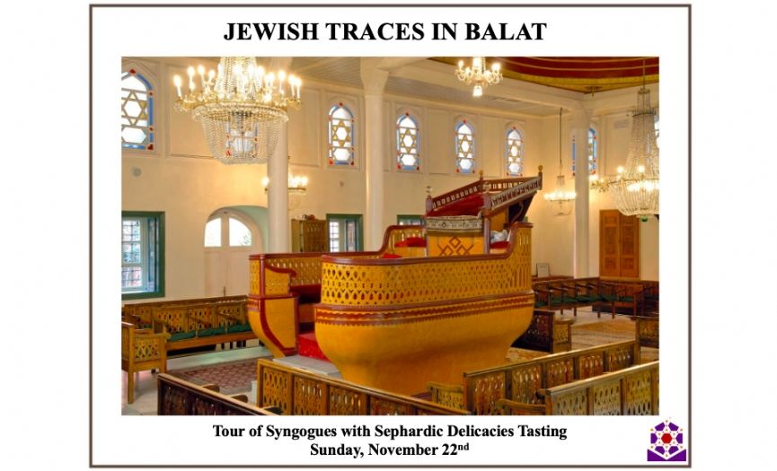 ´Jewish Traces in Balat´ Tour