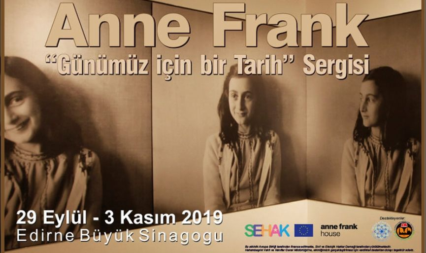 Anne Frank Exhibition Opened in the Grand Synagogue of Edirne