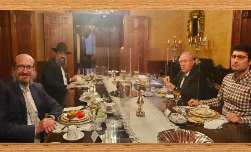 A Kosher Iftar at the Turkish Embassy