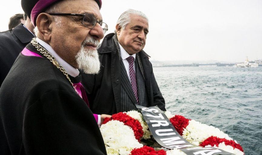 Turkey remembered  768 Jews lost in the  World War II