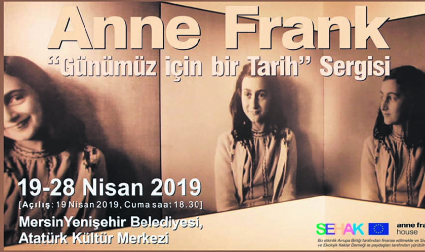 """Anne Frank – A History for Today"" Exhibition is now in Mersin"