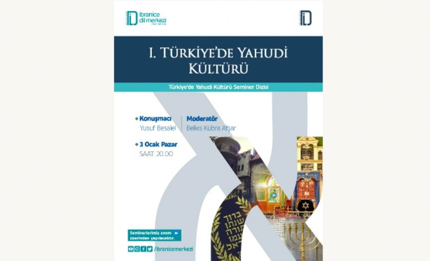 ´Jewish Culture in Turkey´ Seminars by Hebrew Language Center