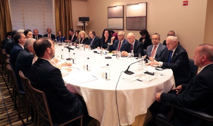 Erdoğan Met with Jewish Leaders in the U.S.