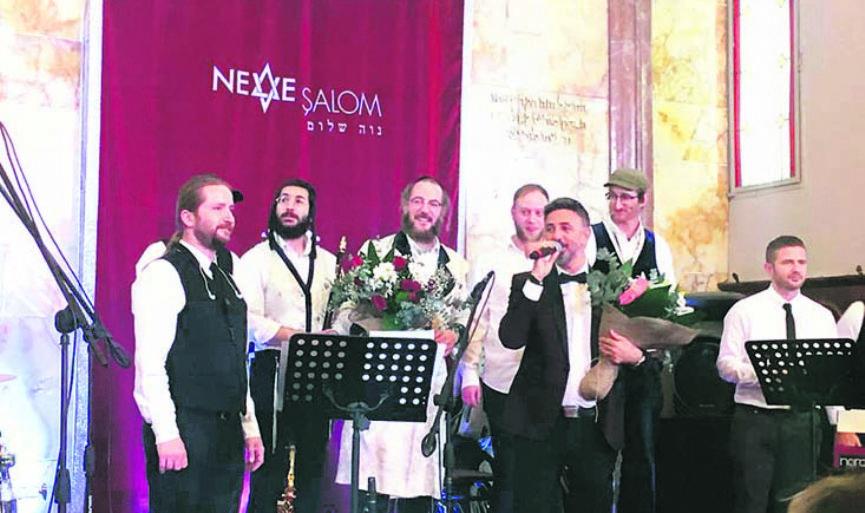 Hanukkah Celebration in Neve Şalom Synagogue