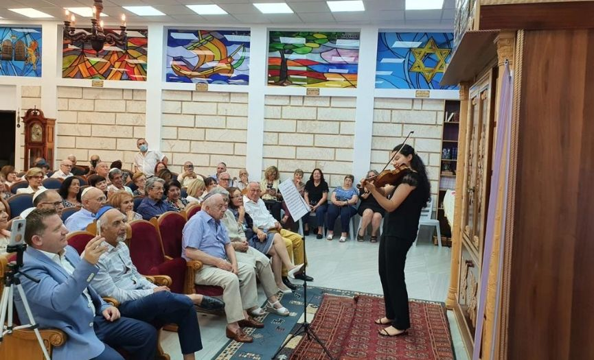 Jaffa Bet El Sagol Synagogue Reopened