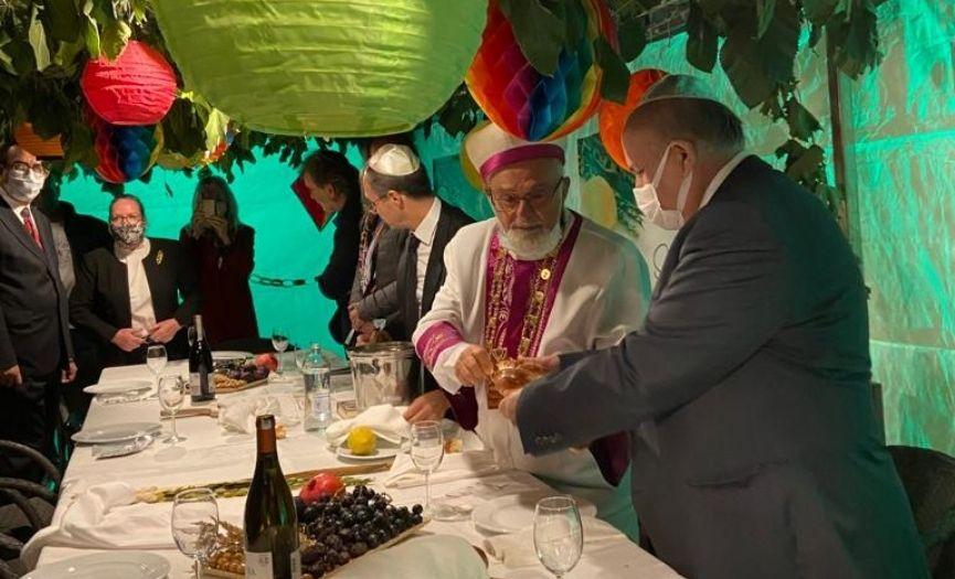 Sukkot Celebration in Ankara