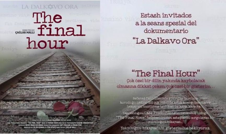 'The Final Hour' to be Screened in Ulus Jewish School