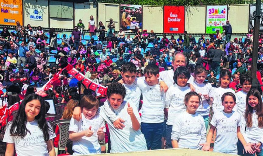 Sephardic Melodies in April 23rd Children Festivals