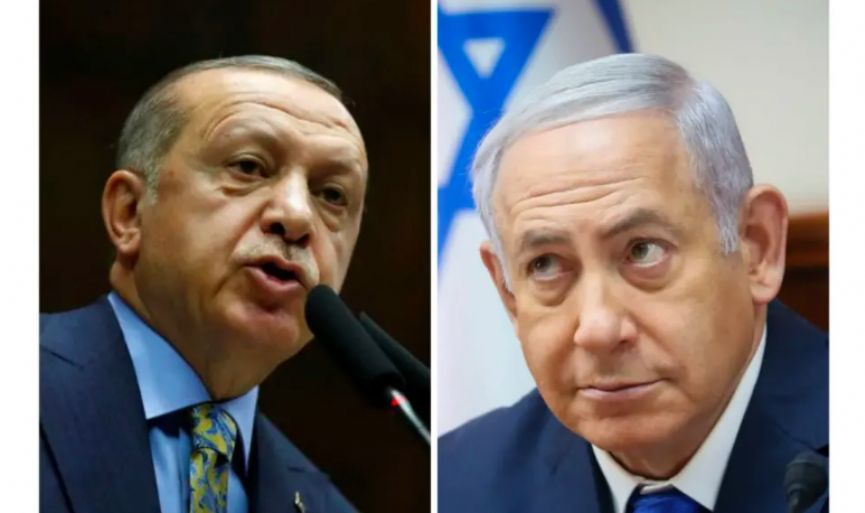 TURKEY´S ERDOGAN: WHOEVER IS ON ISRAEL´S SIDE, WE ARE AGAINST THEM