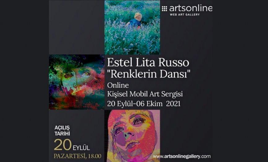 Estel Lita Russo´s ´Dance of Colors´ Exhibition