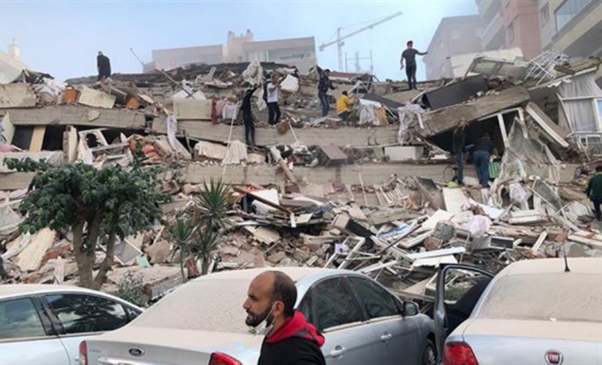 Devastating Earthquake Felt in the Aegean and Marmara Regions of Turkey