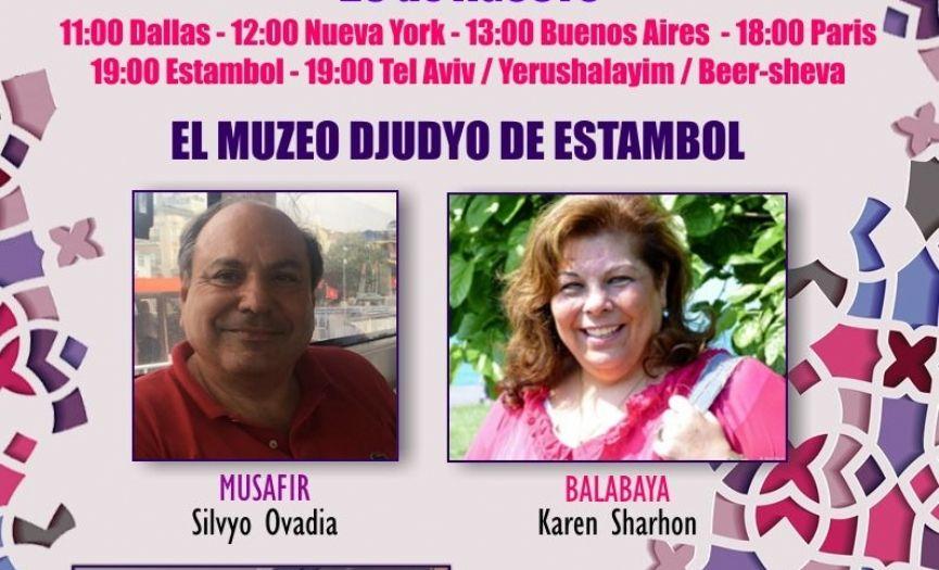 Silvyo Ovadya and Karen Şarhon were Guests of ´Enkontros de Alhad´