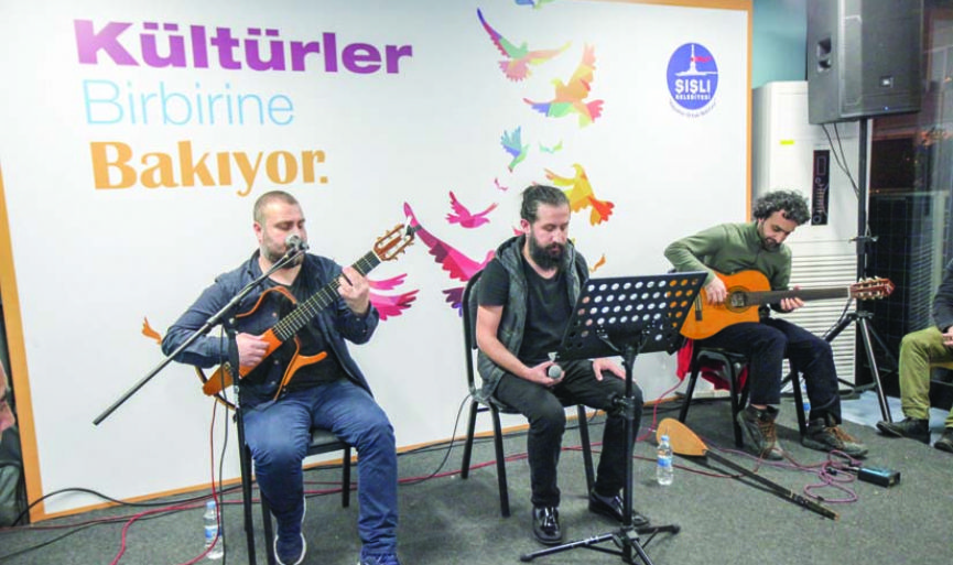 """Different Cultures Look at Each Other"" event in Sisli"