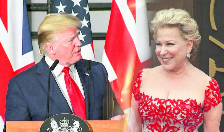 Trump ve Bette Midler'ın Tweet savaşı