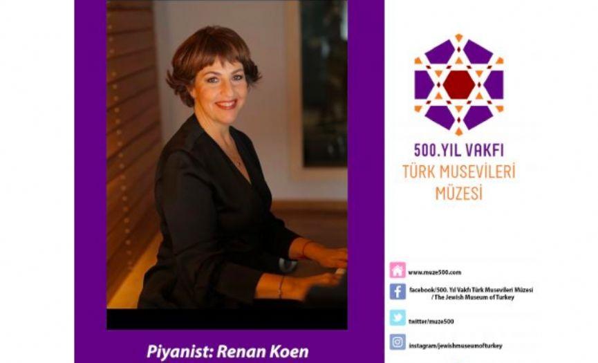 Renan Koen´s Holocaust Remembrance ´Before Sleep´ Concert @ Museum of Turkish Jews