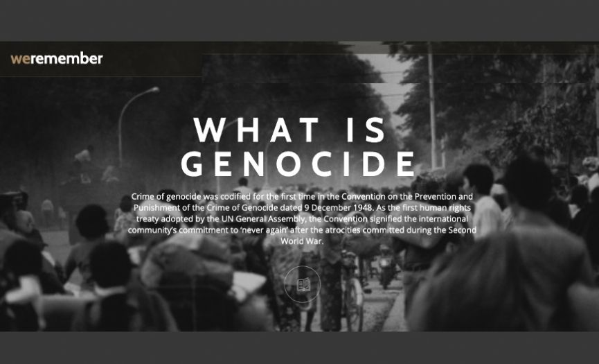 Genocide Information Website by the Presidency