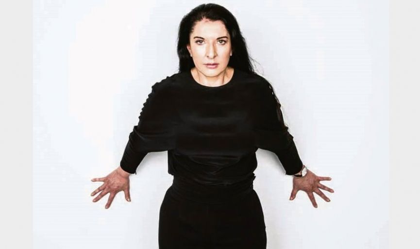 Performance Artist Marina Abramović in Turkey