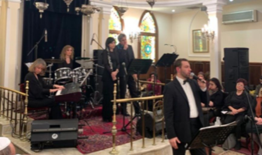 Emotional Holocaust Remembrance Concert in the Historical Italian Synagogue
