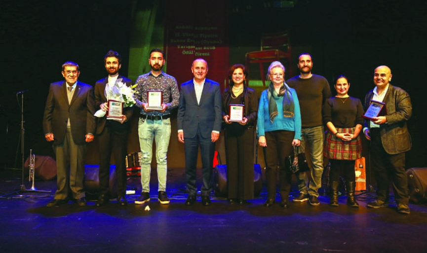Nedim Saban wins third place in National Theater Play Contest organized by Kadikoy Municipality