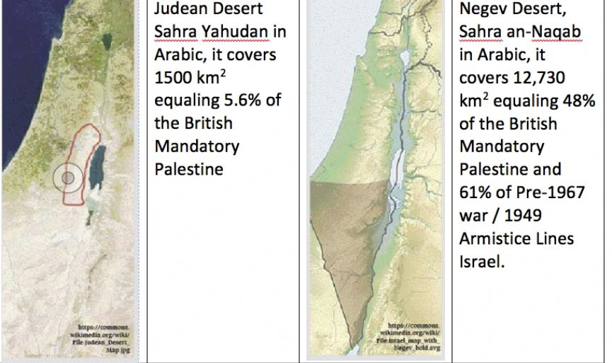 The Palestinian land ownership claim
