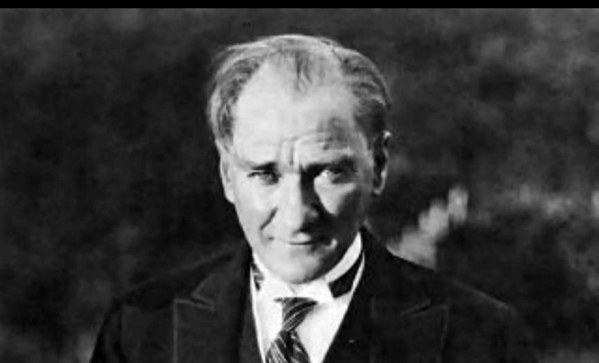 We Commemorate the Great Turkish Leader; Atatürk
