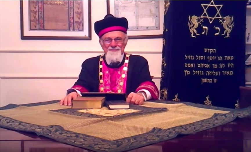 Chief Rabbi Isak Haleva´s Passover 2020 Video Message
