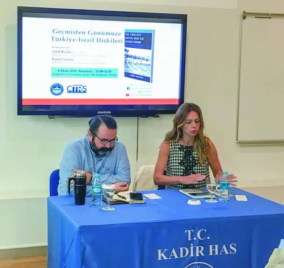 KAREL VALANSİ,  Türkiye - İsrail  ilişkileri kapsamında kitabını tanıttı